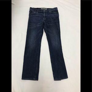 Express men's Kingston straight leg jeans 33x32